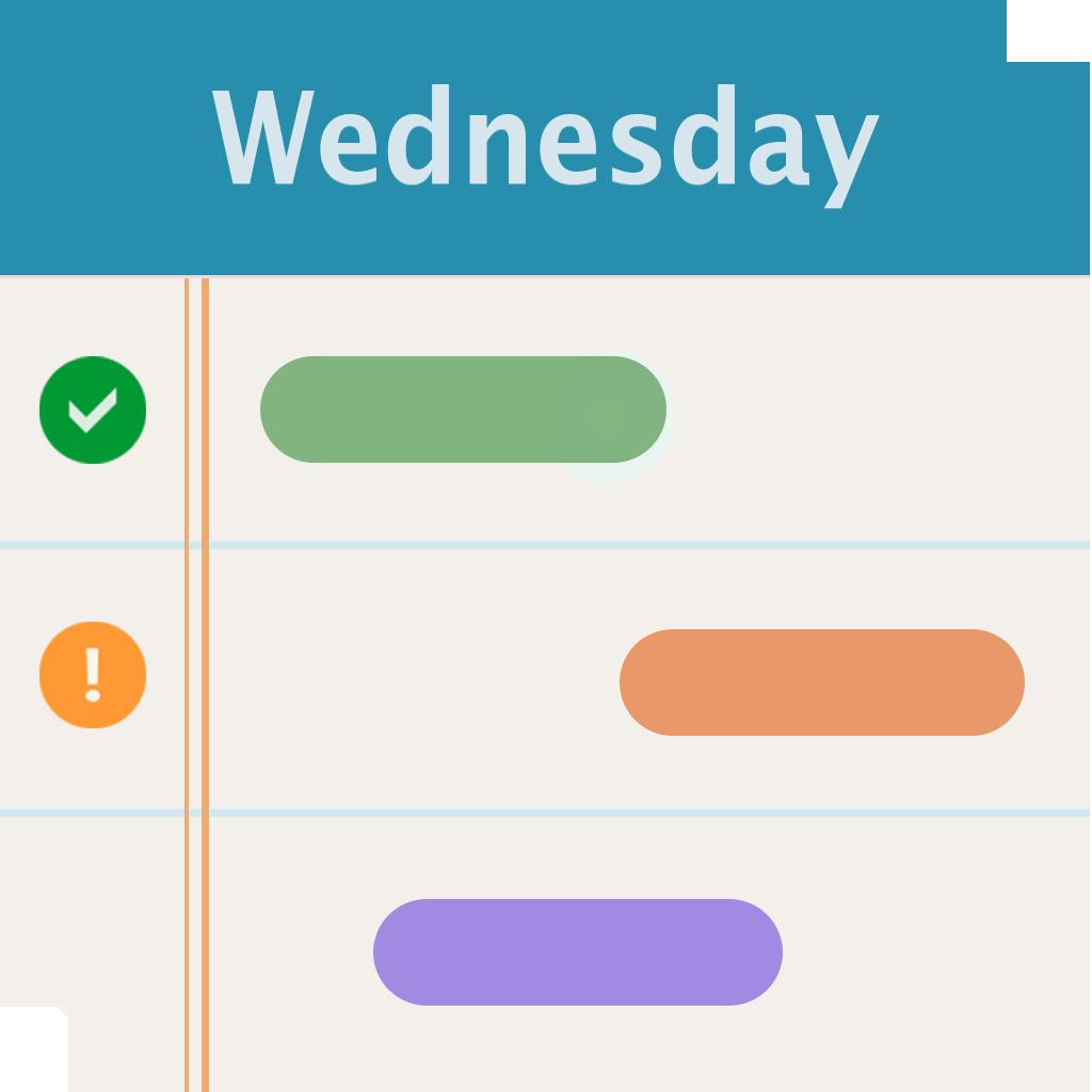 Iagenda Agenda Schedule On Gantt Chart Free Iphone Ipad App Market